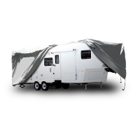 5th Wheel Trailer Cover fits Trailers  37' to 41'