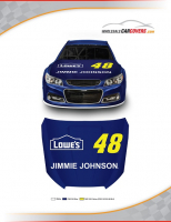 Jimmie Johnson #48 Hood Cover